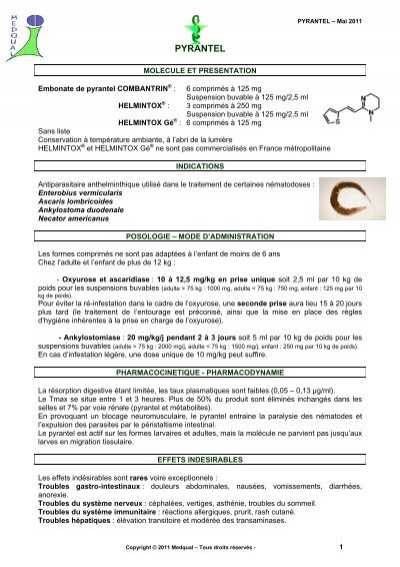helmintox sirop notice)