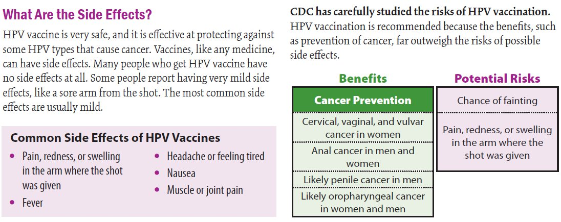 hpv vaccine side effects paralysis