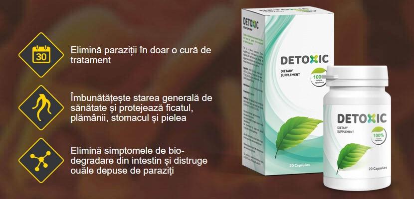 Detoxic - Cel mai bun mod de a curăța corpul de paraziți!