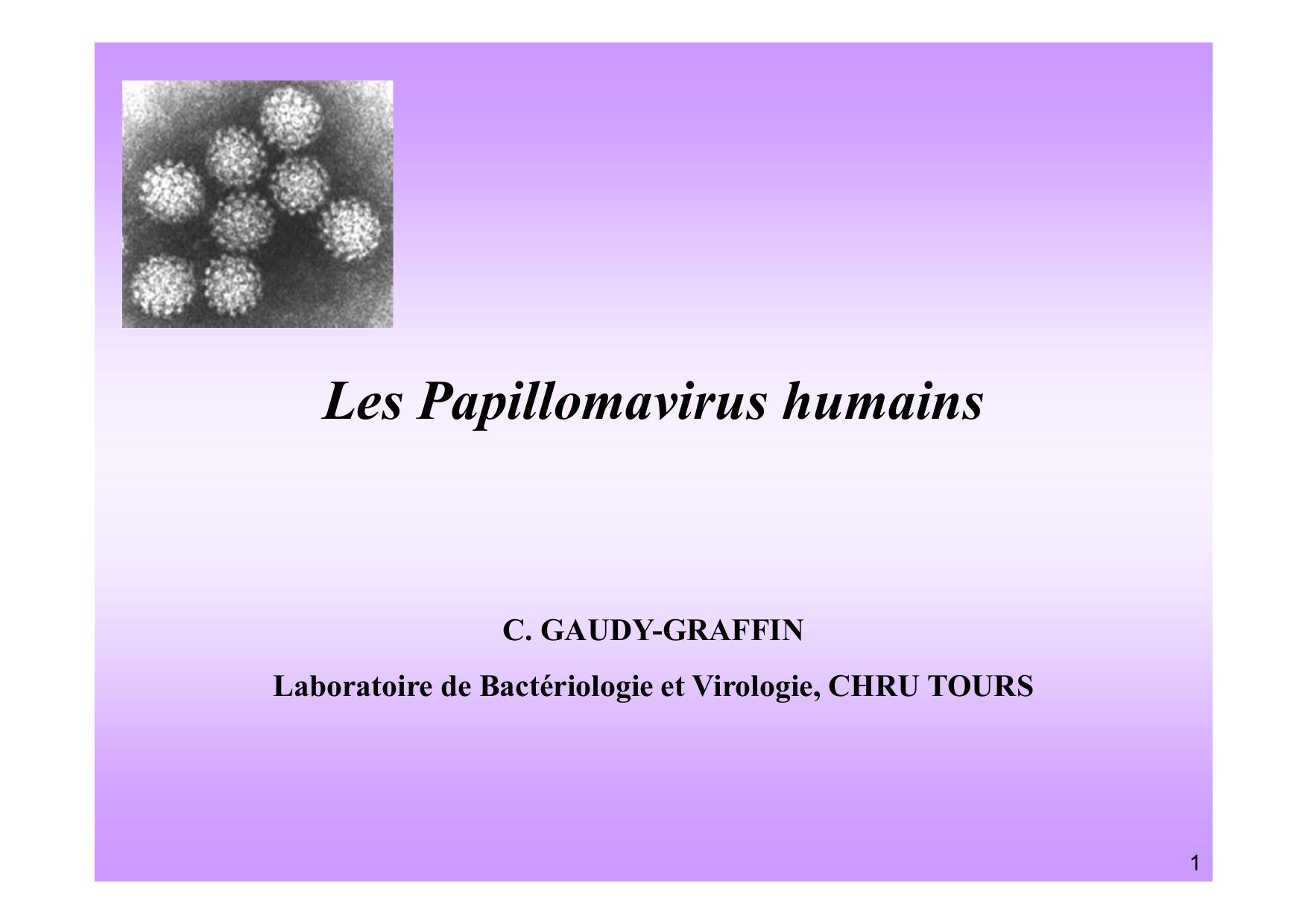 papillomavirus pendant grossesse)