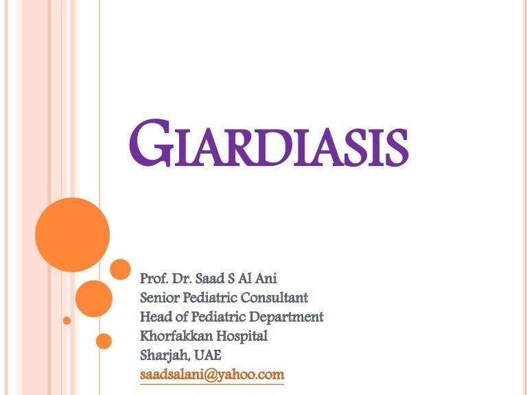 giardia virus mens simptome ale apariției tratamentului viermilor
