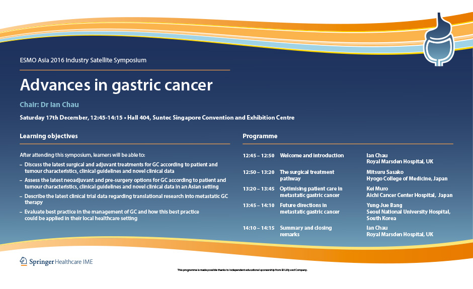 Gastric cancer guideline esmo. Ghid Clinic Oncologie ESMO