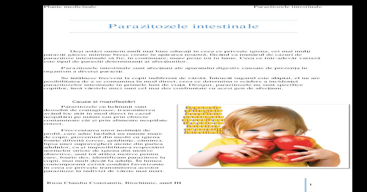 curățarea corpului parazit al copiilor nume pentru viermi pentru copii