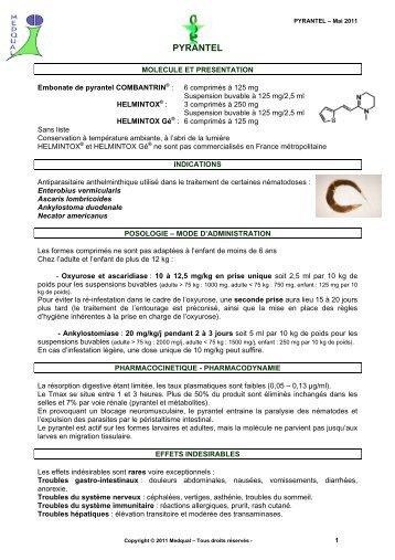 Antihelmintic cu spectru larg pentru oameni - Antihelmintic pentru medicamente pentru oameni