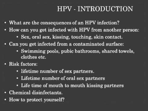 hpv skin contact