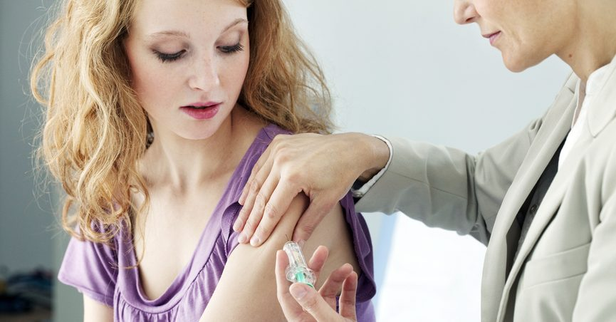 hpv vaccine side effects a week later