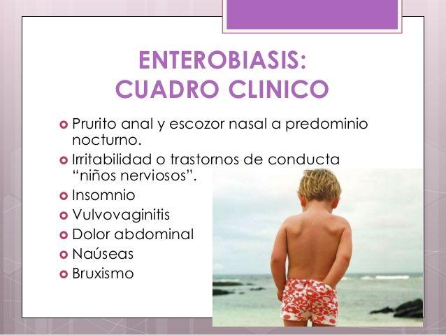 enterobiasis en pediatria
