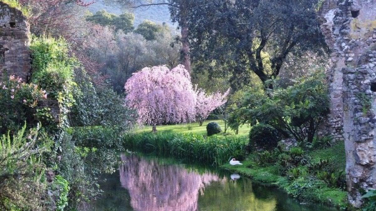 giardini ninfa roma