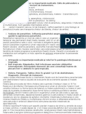 paraziți și vectori 2020 oxiurose tratamento e sintomas