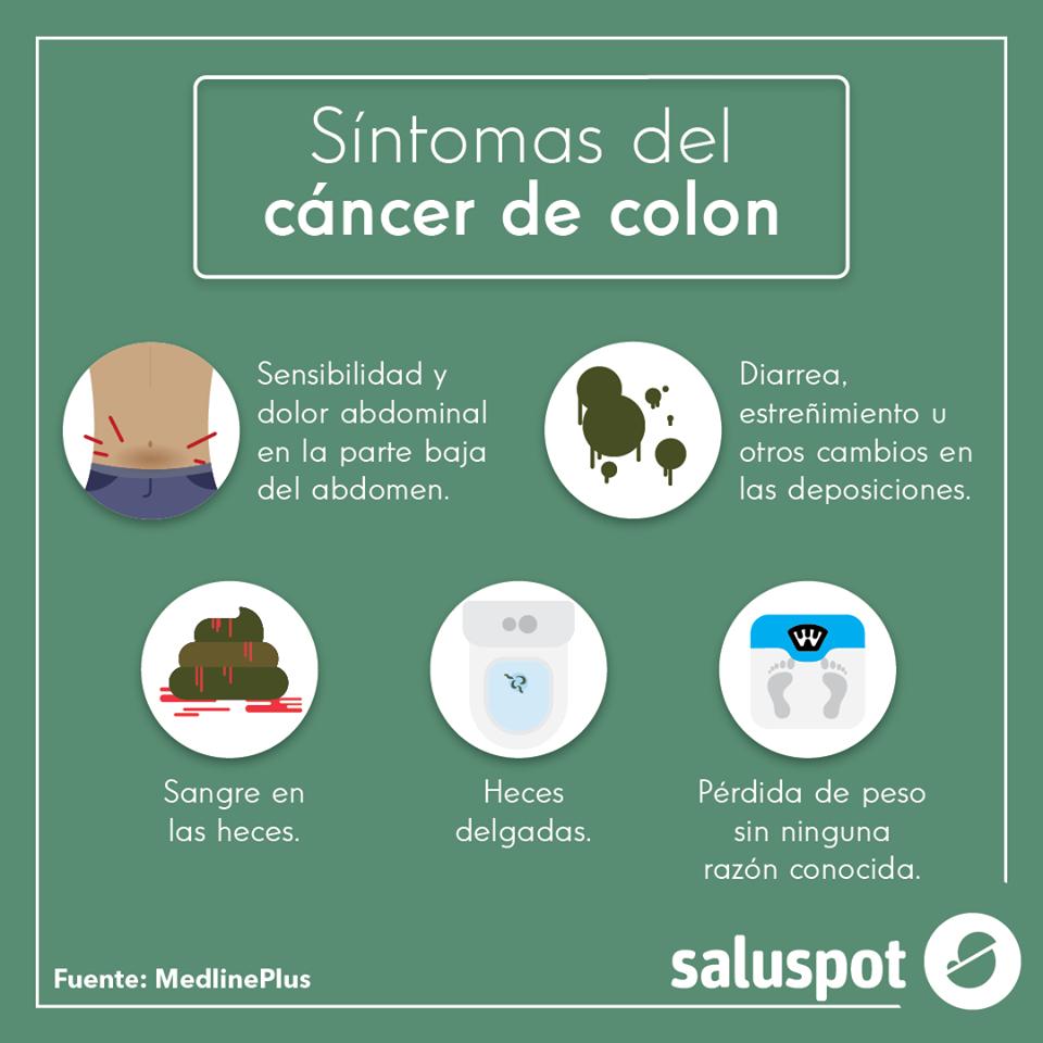 cancer colon sintomas eliberarea digitală a paraziților