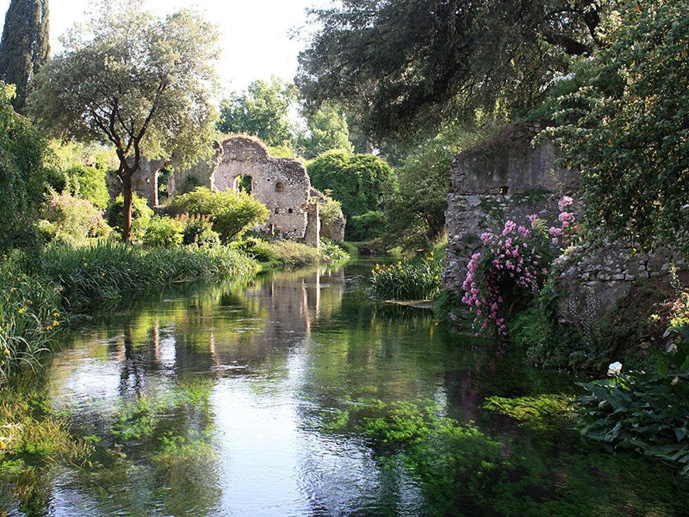 giardini ninfa roma cancer de gura
