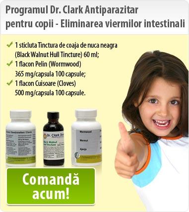 tratament rapid al viermilor la copii